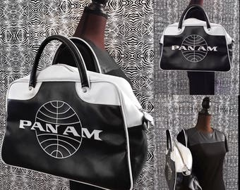 PAN-AM Retro Vintage Airline Carry On Luggage Flight Bag!