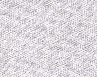 PLAIN STIFF WHITE TULLE