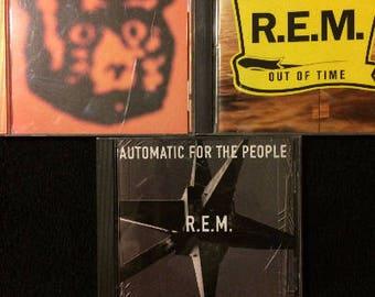 REM 3 CD Lot