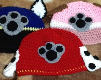 Paw Patrol Character Hats