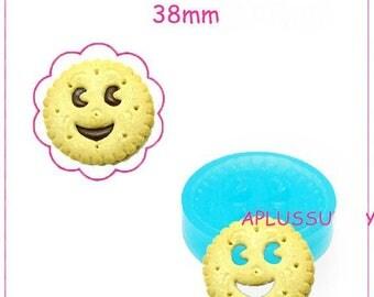 Silicone cake mold smile polymer 3.8 cm