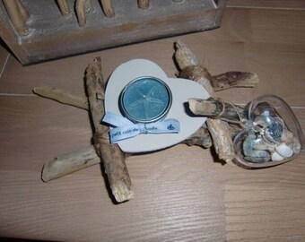 Driftwood Tealight holder