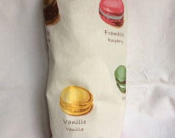 Bags with macaroons 21x42cm bag