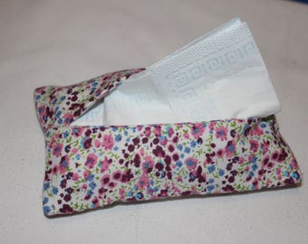 Floral Pocket tissue case