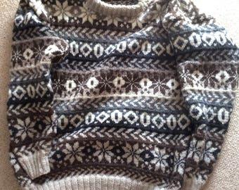 Norwegian style sweater