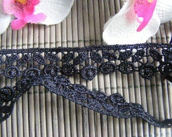 Ribbon lace flower 65 cm x 1.50 cm