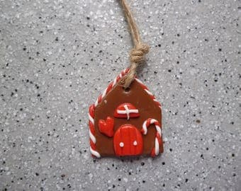 1 home for Christmas tree to hang or paste Fimo