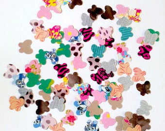 Set of 100 confetti butterflies - fancy paper - A - T8