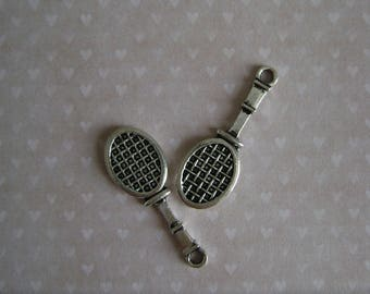 Tennis racket charms