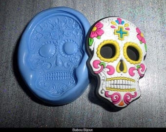 New mold to create your Mexican skulls 5.5 cm