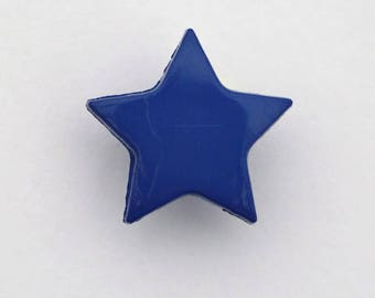 Set of 6 x 14mm - 001660 star buttons