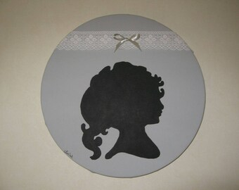 Free shipping! Silhouette painting pattern