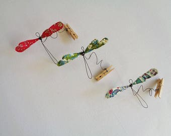 Dragonfly wire and liberty, sold individually