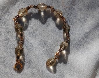 Style couture lemon quartz bracelet