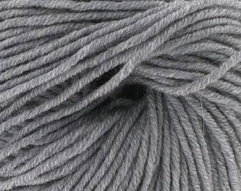 100% Merino Wool gray No. 504 (Katia) - ball 50 gr.