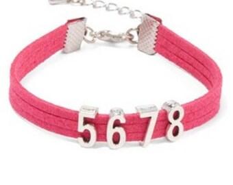 5678 Bracelet - 50 Coral