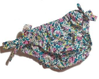 Swimsuit bikini girl turquoise Liberty Claire Aude - 5/6 years