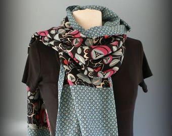 Etole  foulard  écharpe cheich Pop Flower