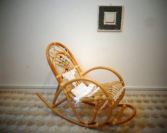 Child size rocking chair