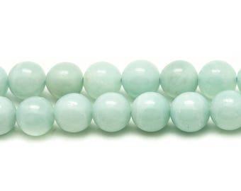 10pc - stone beads - Amazonite 4mm 4558550037473 balls