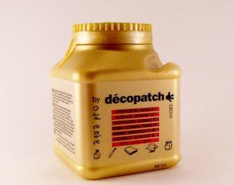 Lacquer sealer Aquapro satin Decopatch 180 ml