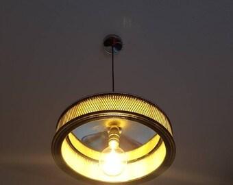 air filter lamp pendant lamp chrome air filter lamp