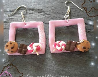 Gourmet fancy earrings