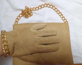 all hands and gloves vintage bag