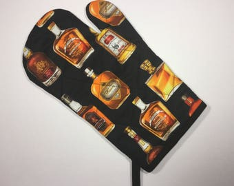 Whiskey Kitchen Oven Mitt  *Ready to Ship
