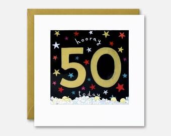 50 Today Shakies Card by James Ellis