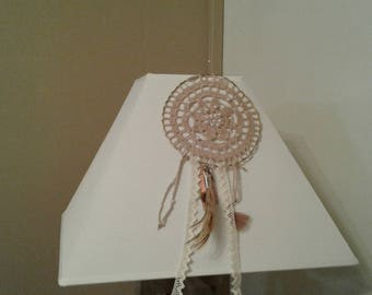 DREAM CATCHER HANDMADE WITH A DOILY CROCHET