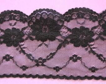 lace flower motifs