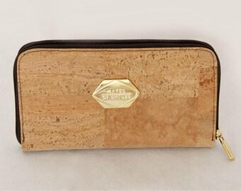 Wallet made of Cork in nude (Cork)
