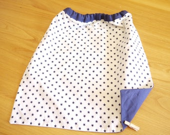 Napkin with balloon sleeves with elastic