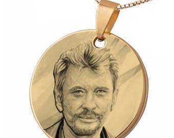 Johnny Hallyday pendant
