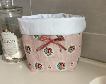 For bathroom storage basket