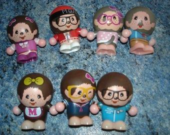 set of 7 mini figures ickies sekiguchi