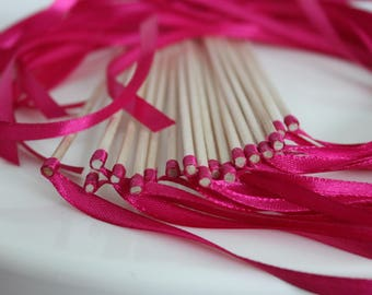 20 sticks out of town hall or church wedding Ribbon