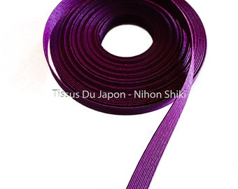 10 meters basketry - paper tape basketry - kraft paper tape - paper weaving basketry - TV10 purple corrugated kraft paper