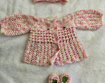 Crochet clothing set