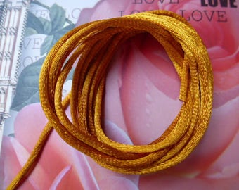 knotting cord brown Golden bracelets and sewing creations