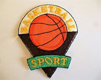applique Basketball for decorating clothing and accessories sewing patch, badge 9027.1
