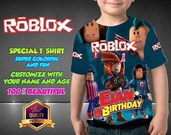 Roblox Birthday Shirt,  Roblox Custom Shirt, Roblox Personalized Shirt, Roblox family shirts, Roblox Birthday t-shirts Roblox Disney Family