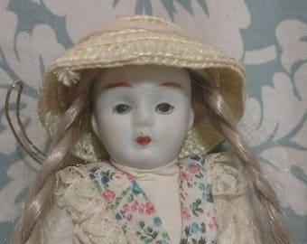 Vintage Tree Ornament Doll