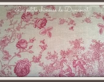 From Mas D'ousvan Princess red chambray fabrics