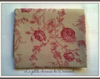 Coupon of Mas D'ousvan Princess red chambray fabrics