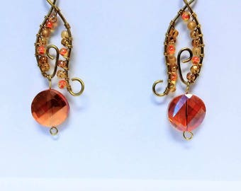 Goldden Sunset Earrings