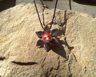 summer red flower