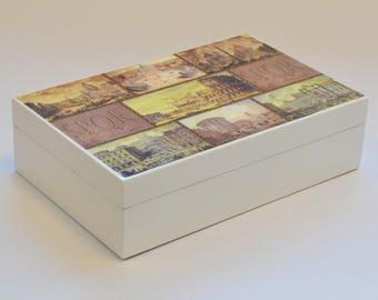 Cofanetto Per Sigari Mastro De Paja, Cigar Box, Humidor