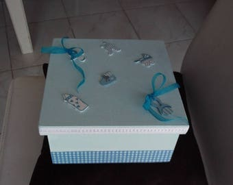 Box tote for a little boy